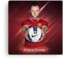 Rooney  Manchester United Canvas Print
