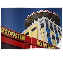 Southsea telephone box Poster