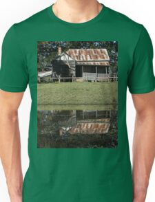 Rustic Home Reflection, Pacific Highway, Australia 2011 Unisex T-Shirt