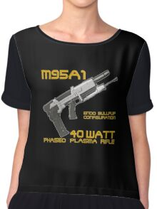 Terminator M95A1 Plasma Rifle Chiffon Top