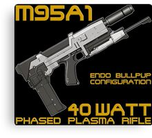 Terminator M95A1 Plasma Rifle Canvas Print