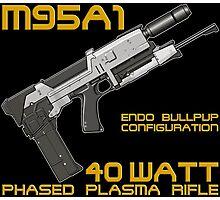 Terminator M95A1 Plasma Rifle Photographic Print