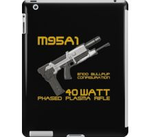 Terminator M95A1 Plasma Rifle iPad Case/Skin