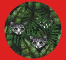 Jungle Kittens One Piece - Short Sleeve