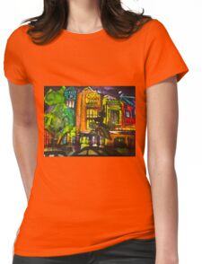 sanfran Womens Fitted T-Shirt
