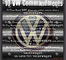VW Commandments by Sharon Poulton