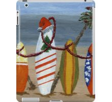 Christmas Surfboards iPad Case/Skin