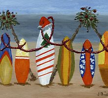 Christmas Surfboards by jfrier