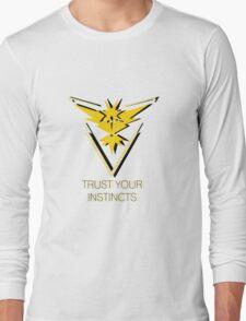 Team Instinct - Trust You Instincts Long Sleeve T-Shirt