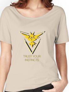 Team Instinct - Trust You Instincts Women's Relaxed Fit T-Shirt