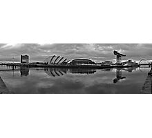 Glasgow - River Clyde Panorama Photographic Print