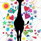Giraffe world by Heaven7