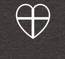 Heart And Cross Unisex T-Shirt