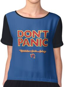 The Hitchhiker's Guide to the Galaxy Chiffon Top