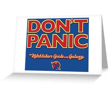 The Hitchhiker's Guide to the Galaxy Greeting Card