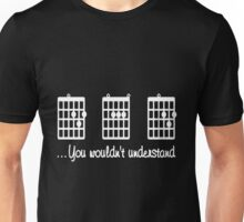 Dad - Guitar Dad   You Wouldn't Understand T-shirts Unisex T-Shirt
