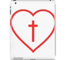 Heart And Cross iPad Case/Skin