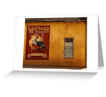 Old West Window Greeting Card