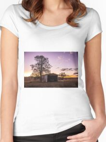 Sheds & sunsets Women's Fitted Scoop T-Shirt