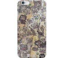 A day in a pug's life iPhone Case/Skin