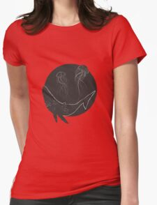 Whale Jellies Womens Fitted T-Shirt