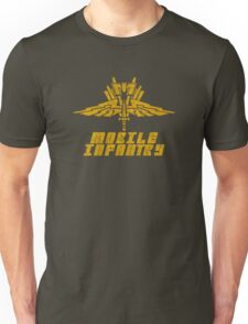 Starship Troopers Mobile Infantry crest grunge Unisex T-Shirt