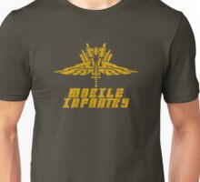 Starship Troopers Mobile Infantry crest grunge Unisex T-Shirt