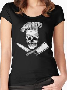 Chef Boy Are Dead Women's Fitted Scoop T-Shirt