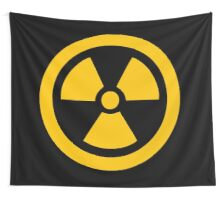 Yellow Radioactive Wall Tapestry