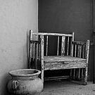 New Mexico Bench by Larry Costales