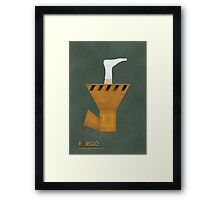 Fargo Wood Chipper Framed Print