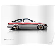AE86 Levin Ver.HT Poster