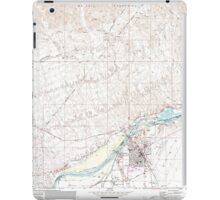 USGS TOPO Map Arizona AZ Parker 312781 1970 24000 iPad Case/Skin
