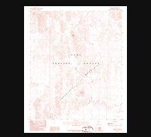 USGS TOPO Map Arizona AZ Red Hill 313051 1986 24000 Unisex T-Shirt