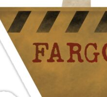 Fargo Wood Chipper Sticker