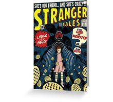 Stranger Tales Greeting Card