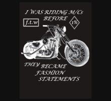 Statement fashion motorcycles BnW by Radwulf