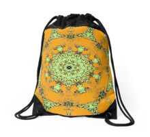 Barnie Paw Prints Kaleidescope 9 Drawstring Bag