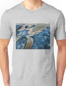Abstract coralline algae in rock pool Unisex T-Shirt