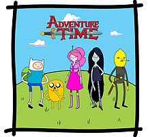 Adventure Time Characters  by Liam Kelly