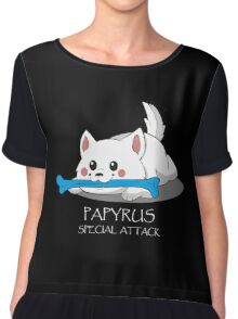 Undertale - Papyrus's special attack Chiffon Top