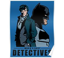 World's Finest Detectives Poster