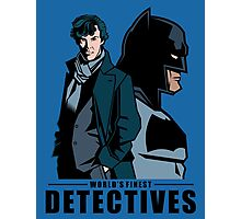 World's Finest Detectives Photographic Print