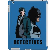 World's Finest Detectives iPad Case/Skin