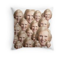Mary Berry Print  Throw Pillow