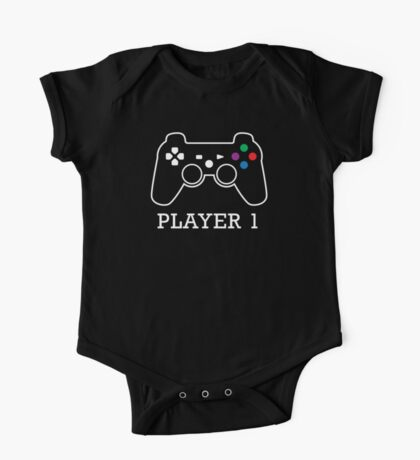 Player 1 One Piece - Short Sleeve
