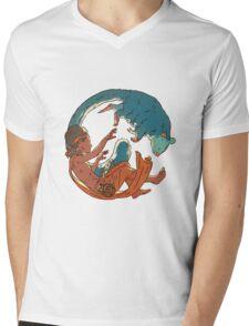 Australi Logo Mens V-Neck T-Shirt