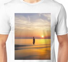 Gormley Iron Man in the Surf Unisex T-Shirt