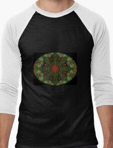 Poppies Kaleidescope Men's Baseball ¾ T-Shirt