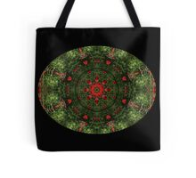 Poppies Kaleidescope Tote Bag